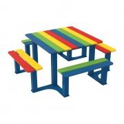 Piknikový stůl Silaos Junior_ZŠ